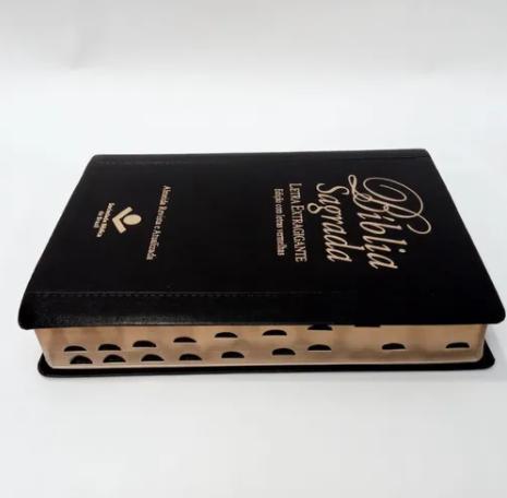BÍBLIA SAGRADA - LETRA EXTRAGIGANTE -  EDIÇÃO COM LETRAS VERMELHAS