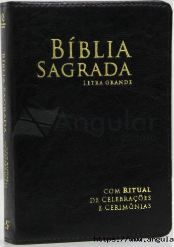 Bíblia Sagrada Letra Grande Com Ritual