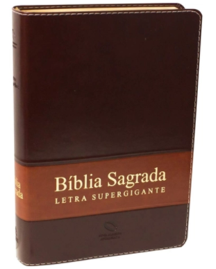 BIBLIA SAGRADA - LETRA SUPERGIGANTE - COR MARROM