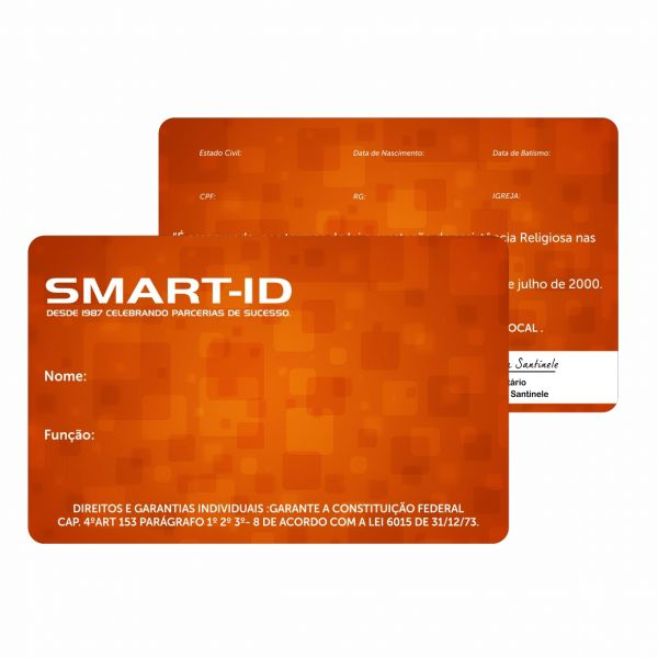 Cartões PVC - Membro, Crachás, Eventos - Personalizados