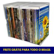 COLEÇÃO COM 19 LIVROS F. D. H. M.  EM CAIXAS DE ACRÍLICO - FRETE GRÁTIS