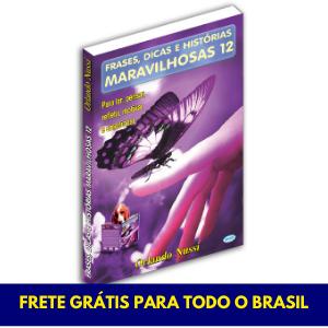 Frases, Dicas e Histórias Maravilhosas - Vol. 12 - FRETE GRÁTIS