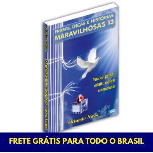 Frases, Dicas e Histórias Maravilhosas - Vol. 13 - FRETE GRÁTIS