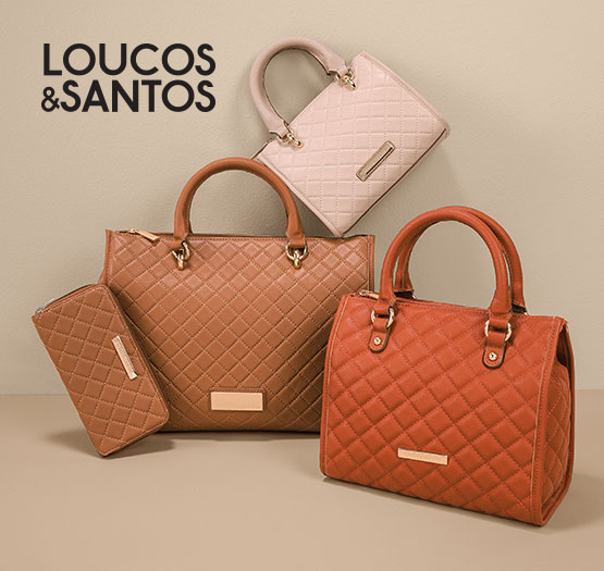 Bolsas Loucos & Santos