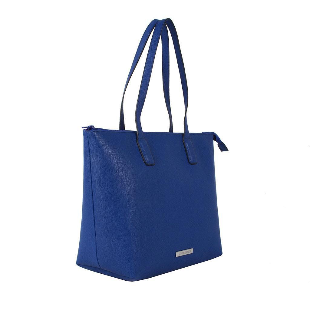 Bolsa Azul Loucos e Santos V19