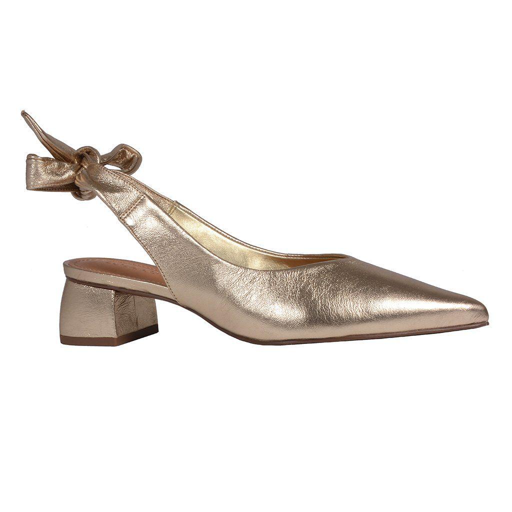 Chanel Metalizado Ouro Loucos e Santos V20