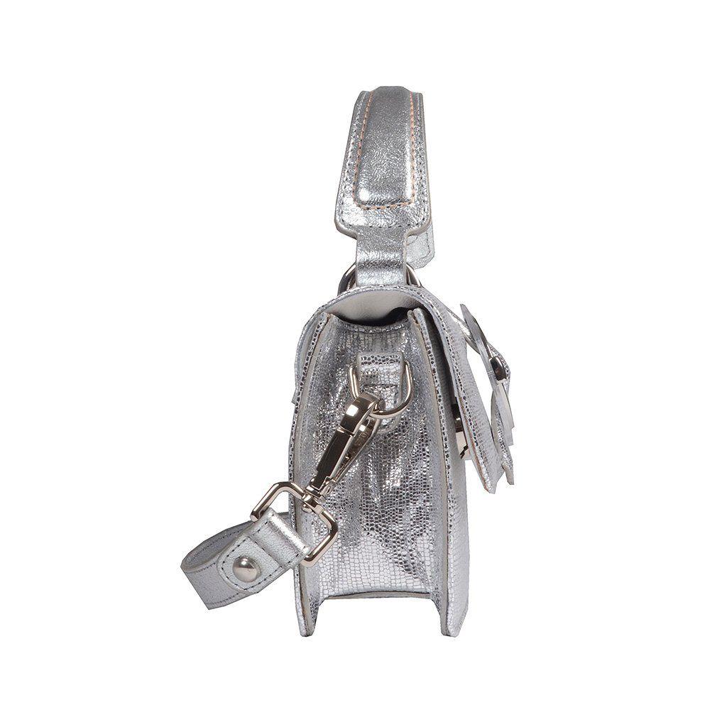 Clutch Prata Metalizada  Jorge Bischoff V20