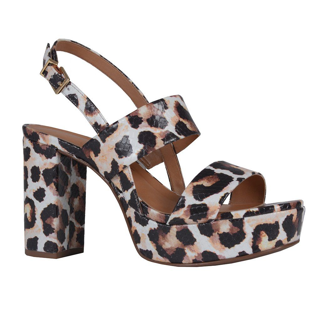 Sandália Leopardo Jorge Bischoff V20