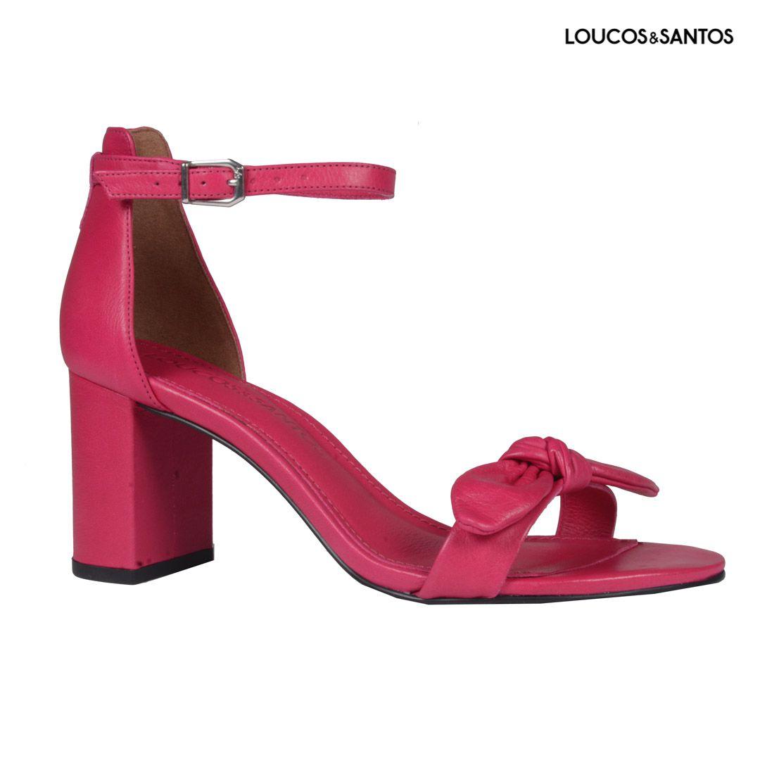 Sandália Napa Pink Loucos & Santos I20