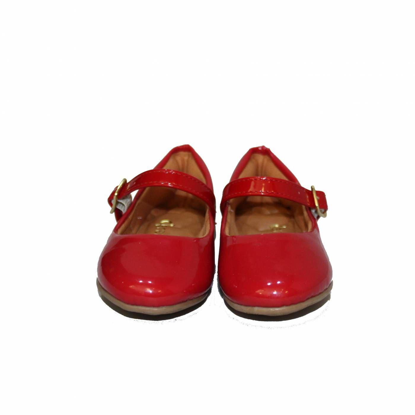 Sapatilha Boneca Vermelha