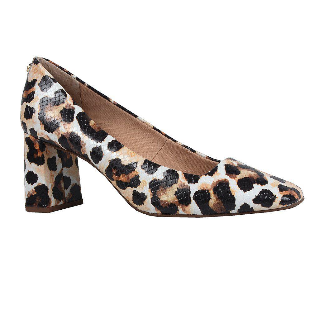 Sapato Leopardo Jorge Bischoff