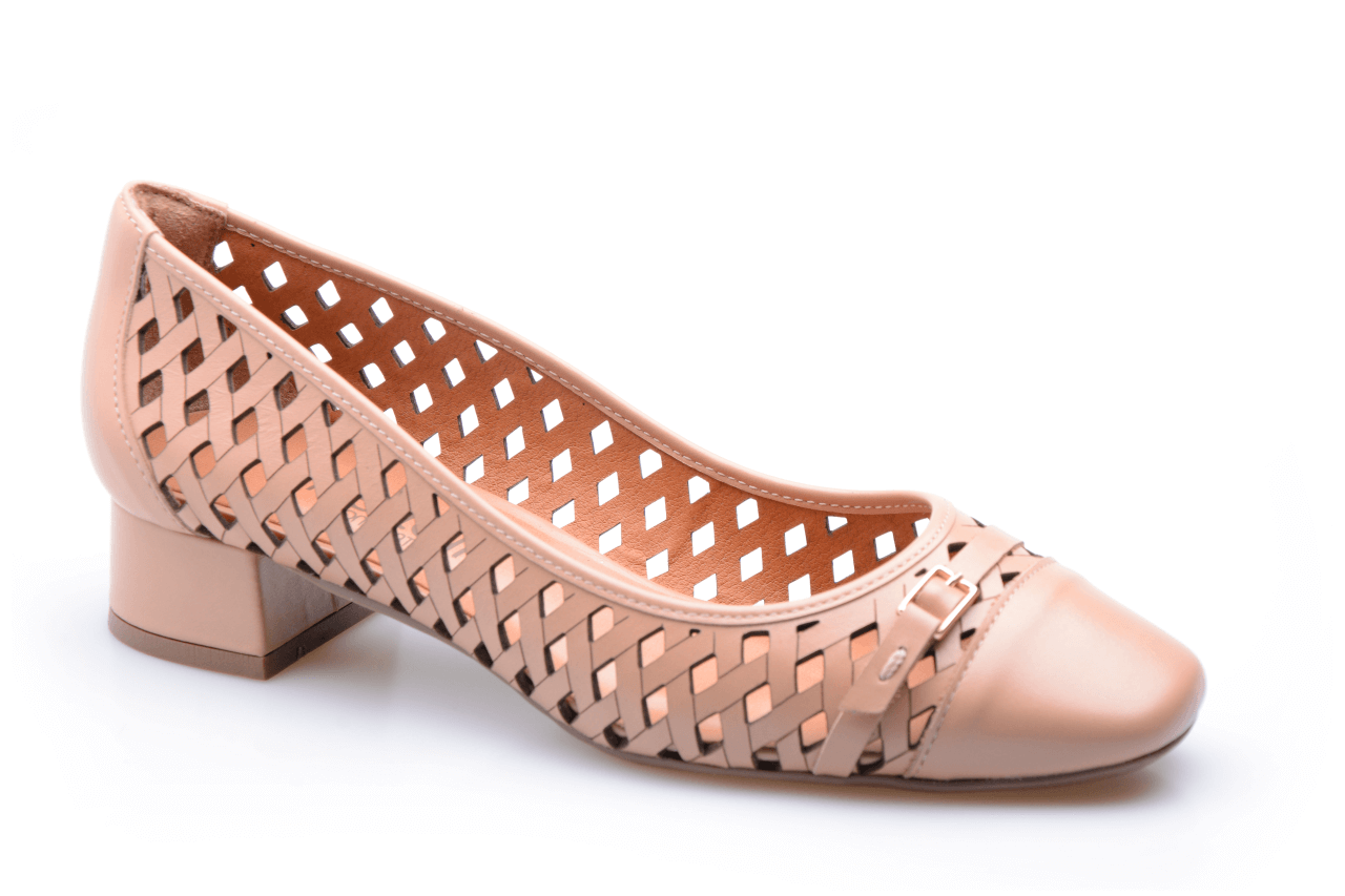 Sapato Nude Fabiana Sanchez Calçados