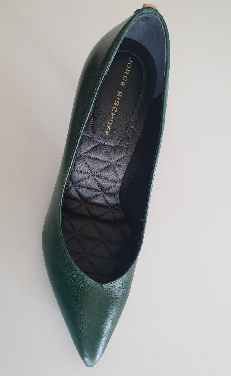 Scarpin Caseinado Verde I20