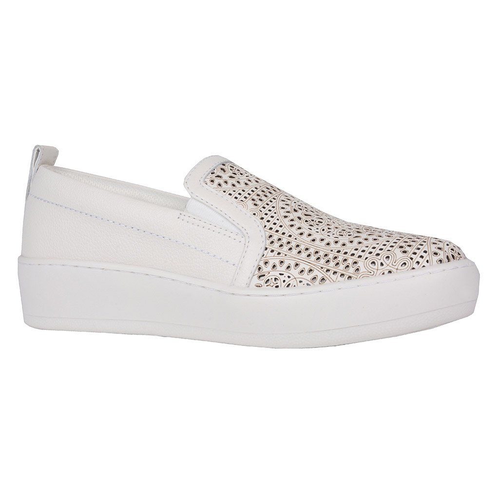 Slip On Branco Jorge Bischoff V20