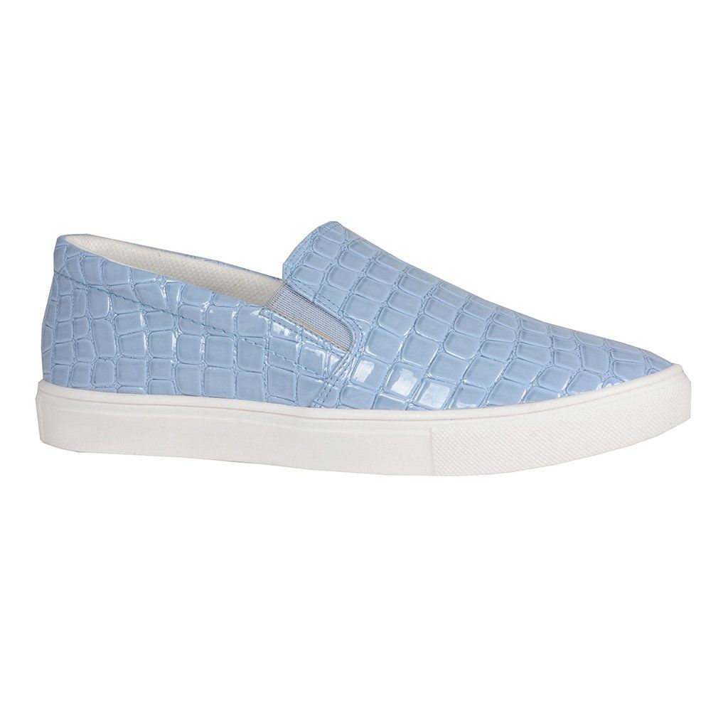 Slip On Light Blue Loucos e Santos V20