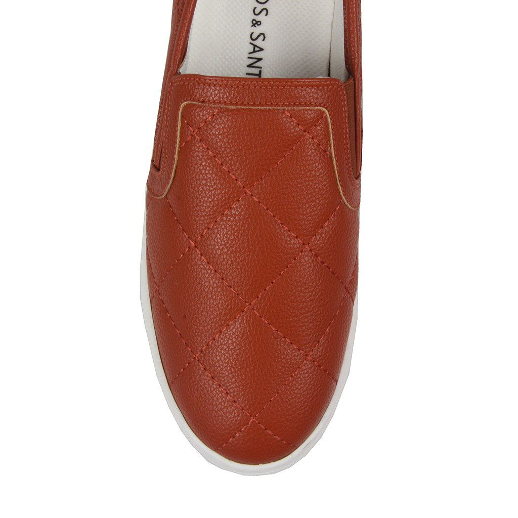 Slip On Terracota Loucos & Santos I19