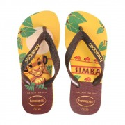 CHINELO INFANTIL HAVAIANAS REF: KIDS LION KING