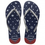 Chinelo Feminino Havaianas REF: Slim Nautical