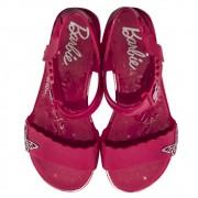 Sandália Infantil Personalidade Barbie Butterfly REF: 22370 Com brinde