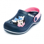 Sandália Infantil Personalidade Minnie Glam Babuche Ref: 22489