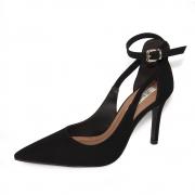 Sapato Feminino Bebecê Scarpin Salto Alto REF: T9430-068 NOBUCK