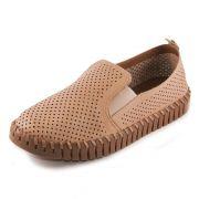 Sapato Feminino Bottero Flatform REF: 315601 COURO