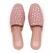 Sapato Feminino Moleca Mule REF: 5722101 TECIDO POA