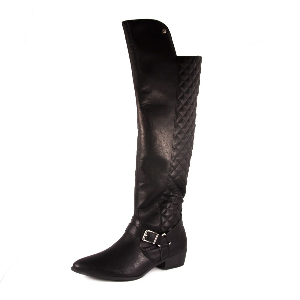 BOTA FEMININA VIA MARTE OVER KNEE REF: 19-203 NAPA LIRA