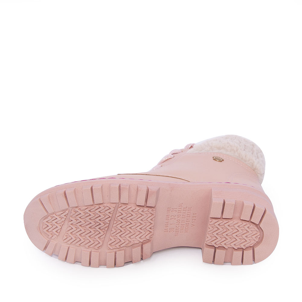 Bota Infantil Pink Cats Coturno REF: V-1741