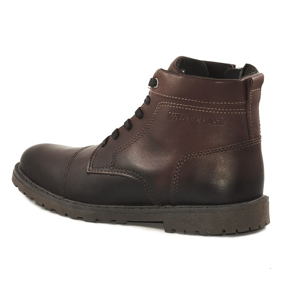 BOTA MASCULINO WEST COAST NEW WINSTON REF: 204201 COURO
