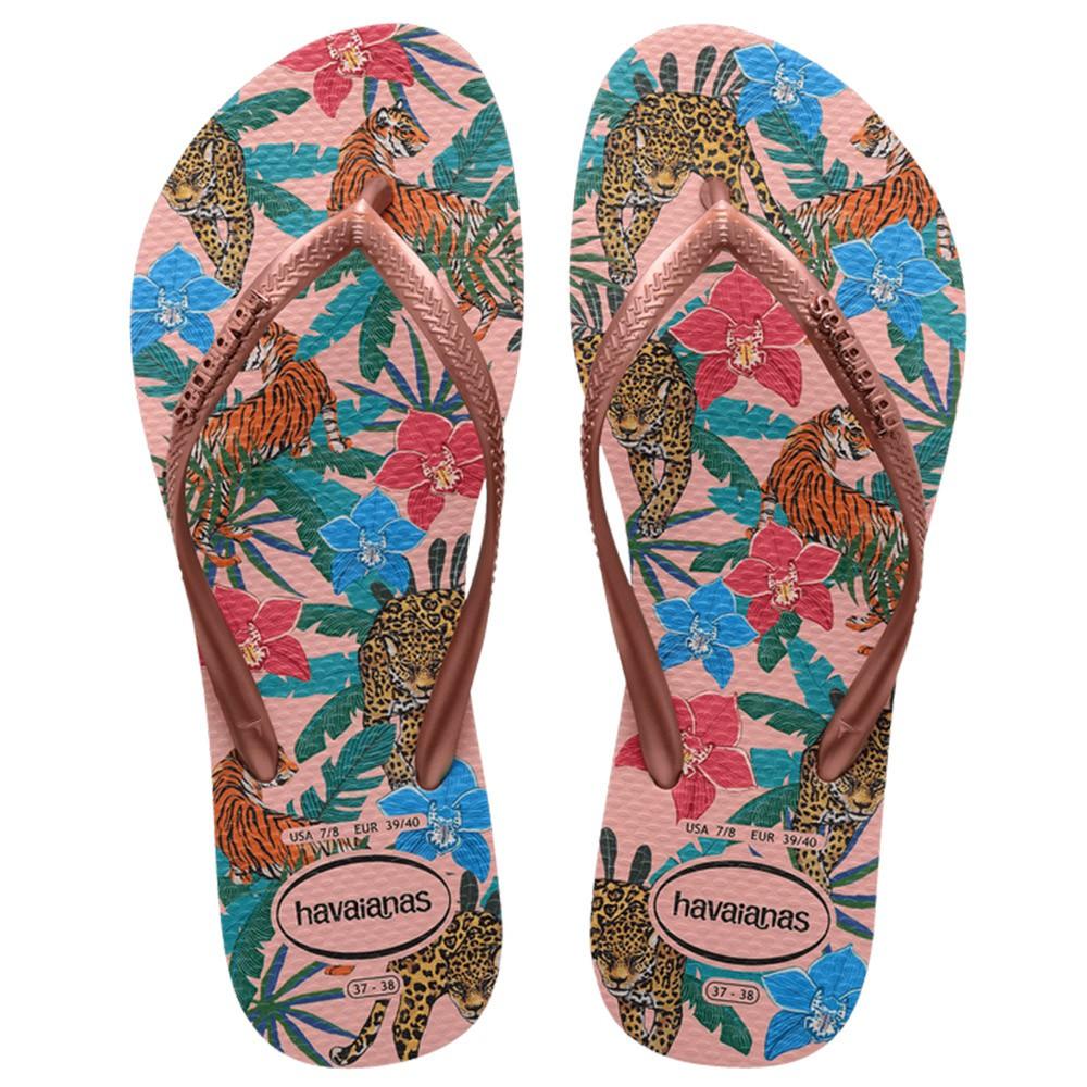 Havaianas feminina Slim Tropical