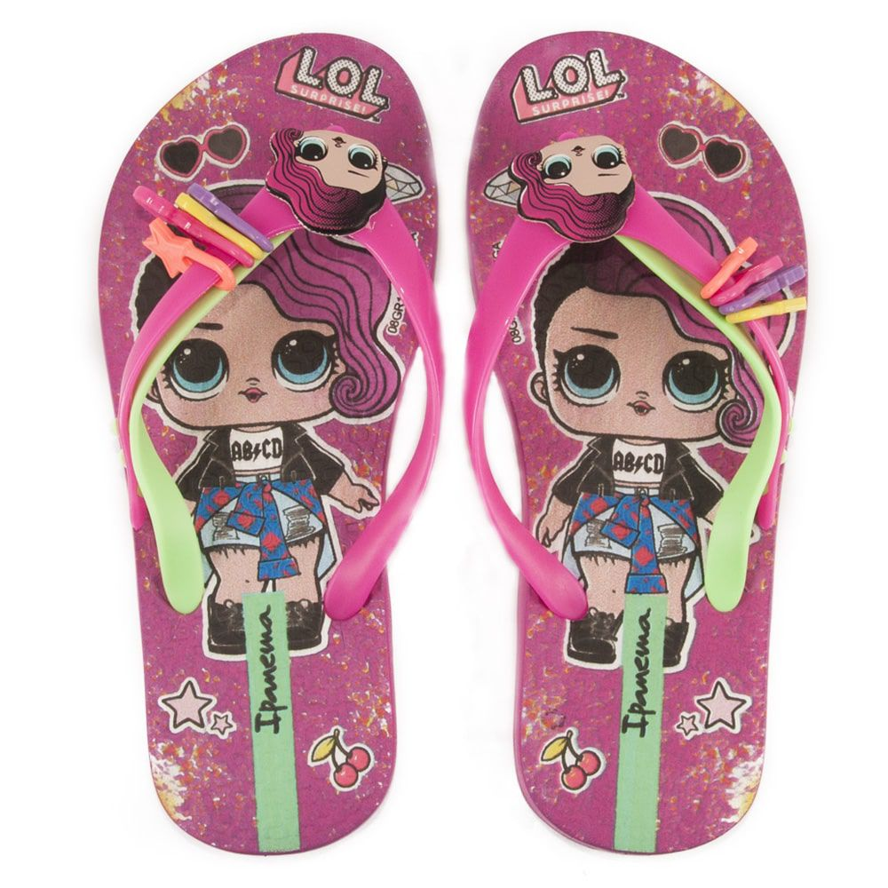 CHINELO INFANTIL IPANEMA LOL SURPRISE III REF: 26350