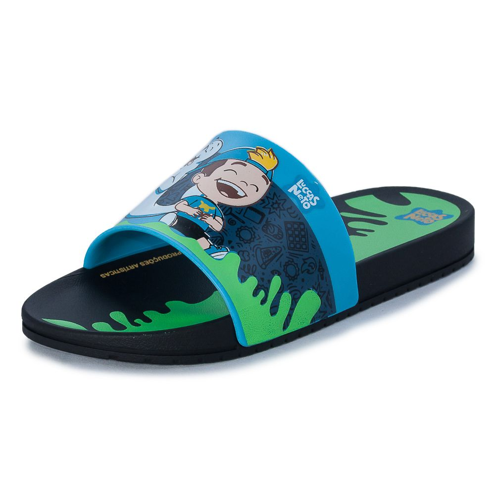 CHINELO INFANTIL PERSONALIDADE LUCCAS NETO LAND GASPEA REF: 22083