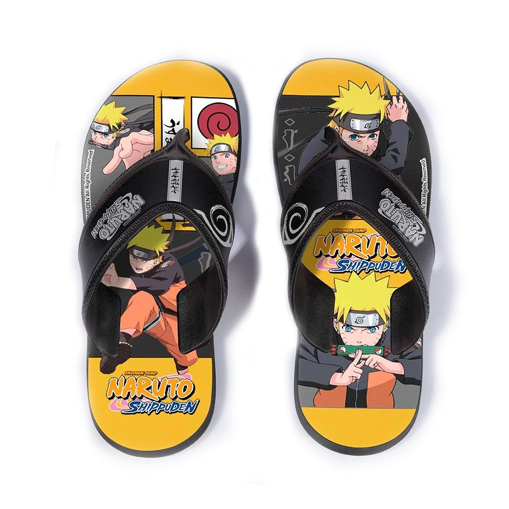 Chinelo Infantil Personalidade Naruto Anime Super Flop REF: 22682