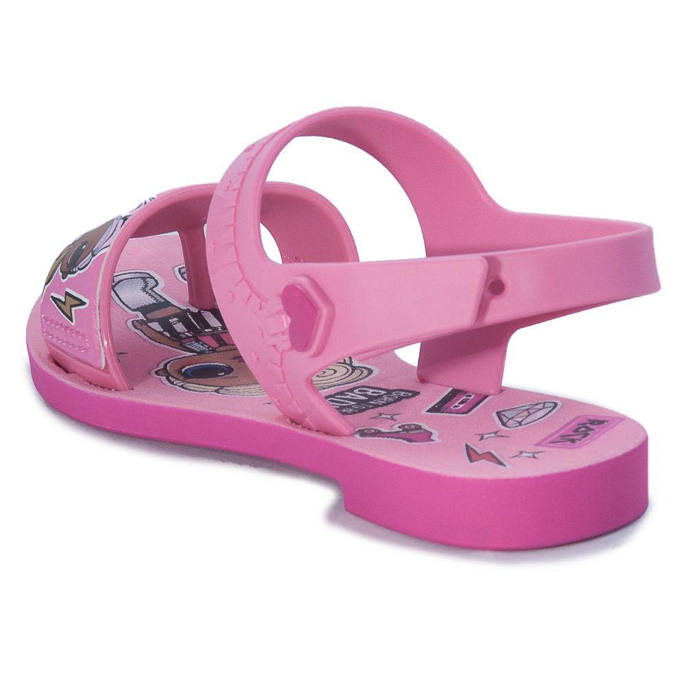 Sandália Infantil Grendene Kids LOL Diva com brinde 22117