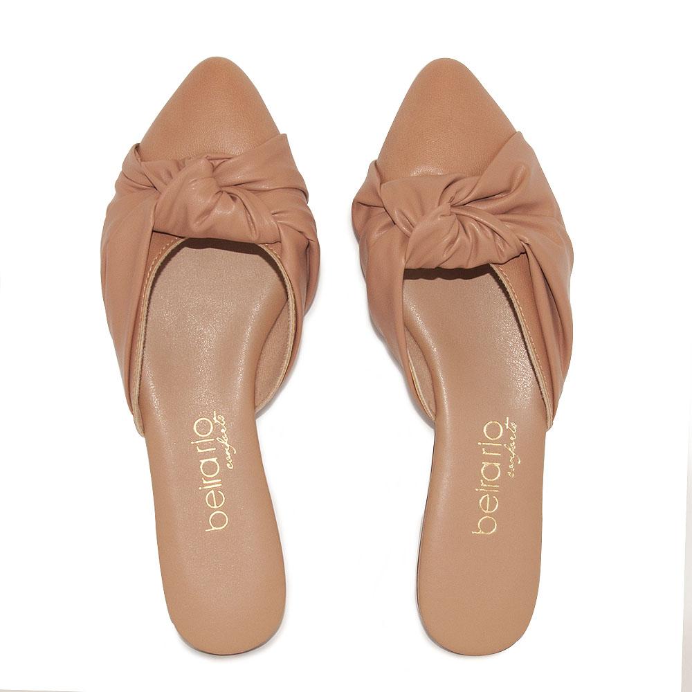 Sapato Feminino Beira Rio Mule REF: 4134473 NAPA-PELE STRECH