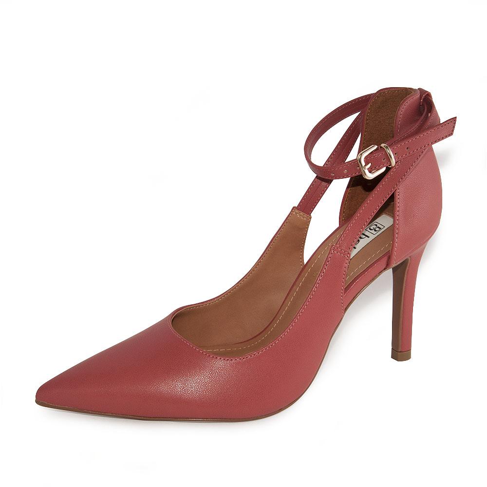 Sapato Feminina Bebecê Scarpin Salto Alto REF: T9430-068 NAPA