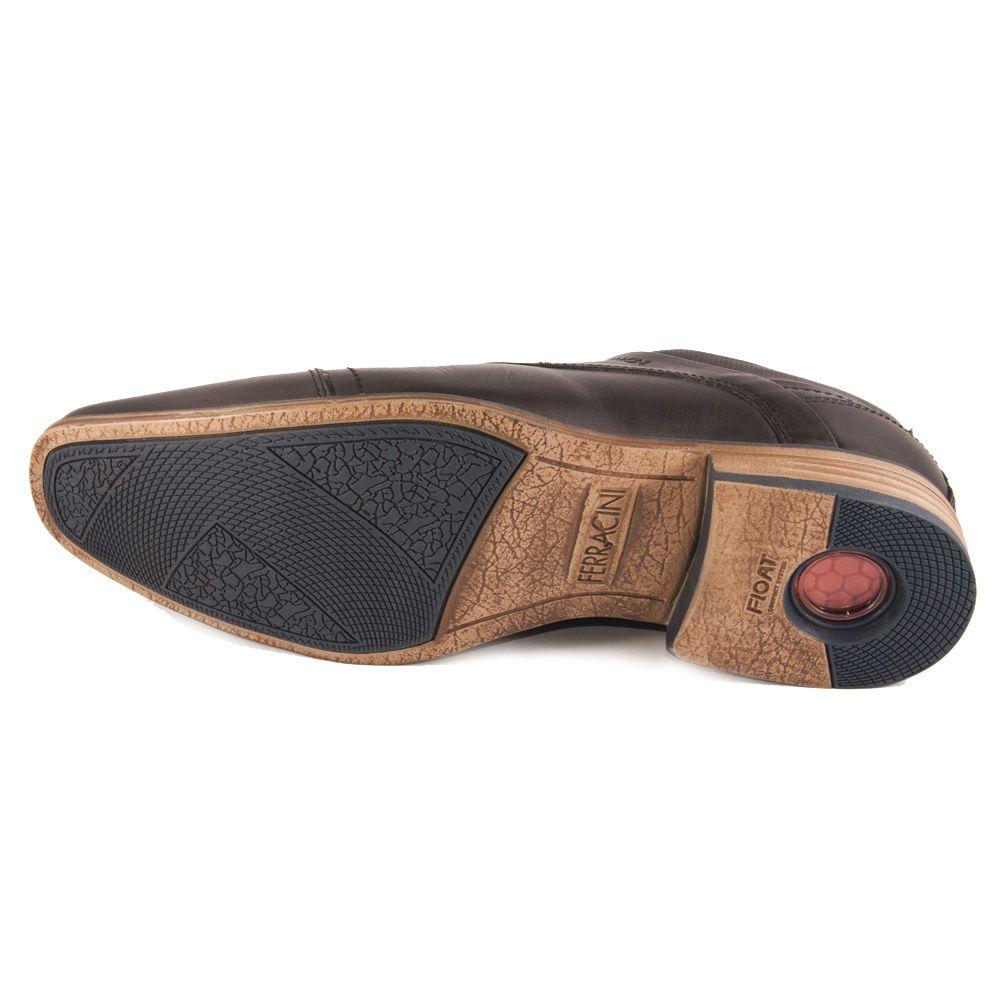 Sapato Masculino Ferracini Derby REF: 6065 COURO