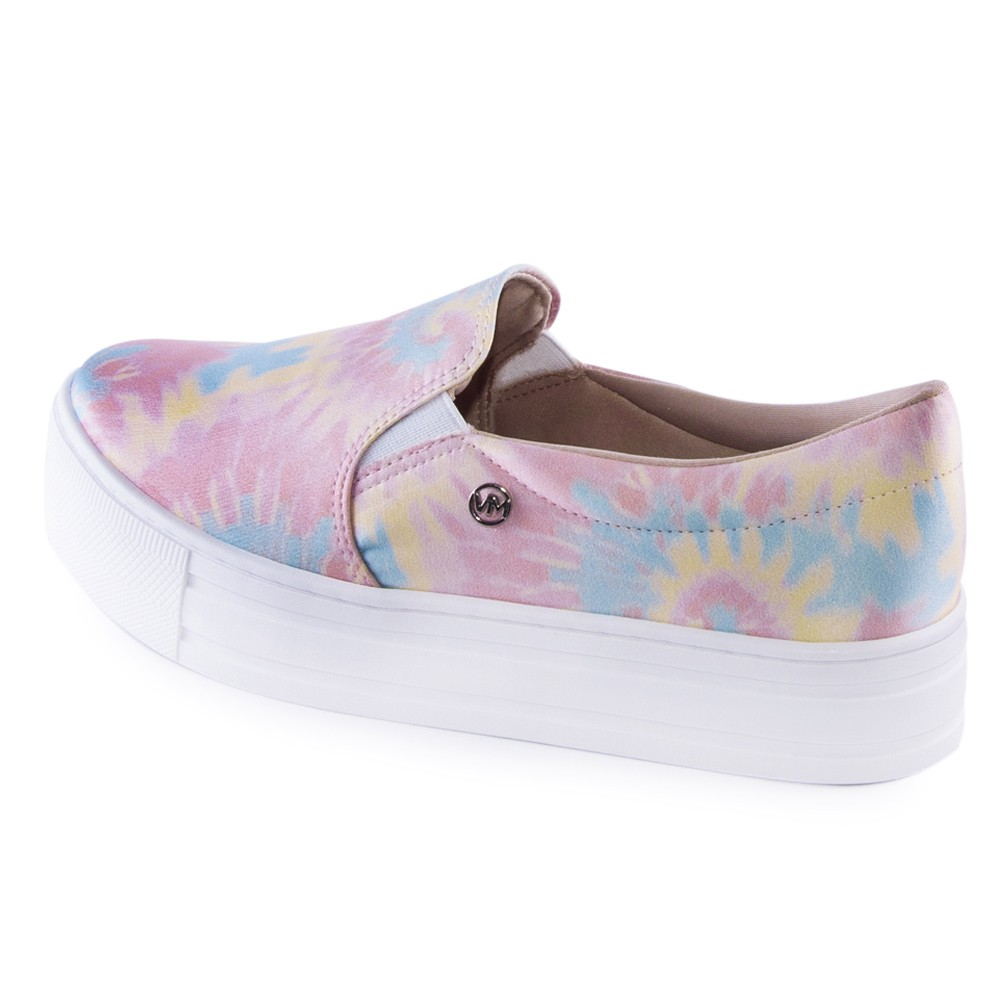 Tênis Via Marte Slip On Tie Dye 20-13788
