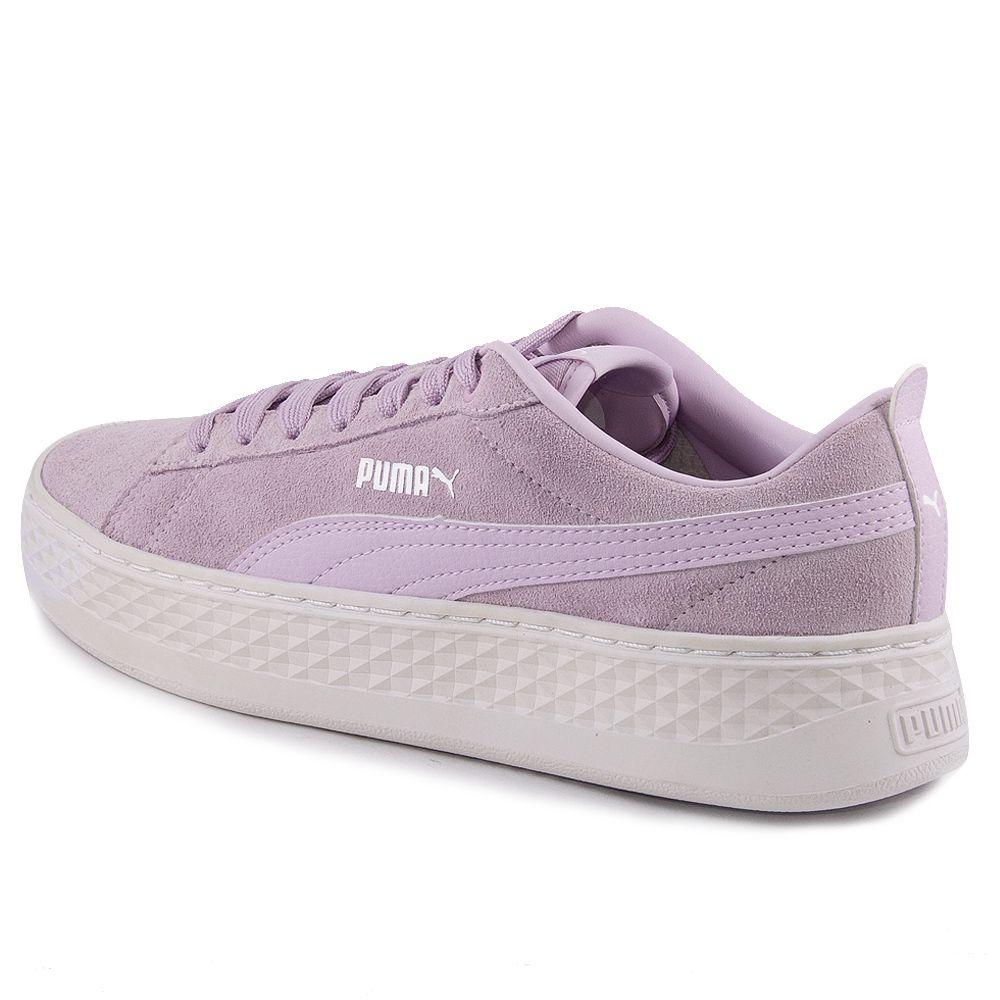 Tênis Feminino Puma Smash Platform REF: 368003