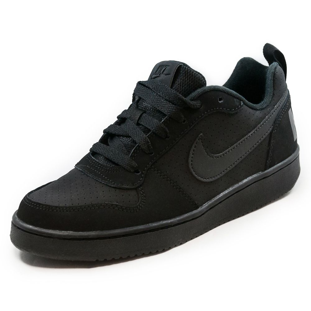 TÊNIS INFANTIL NIKE COURT BOROUGH LOW GS REF: 839985-001