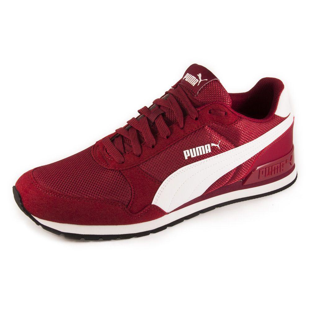Tênis Masculino Puma St Runner V2 Mesh REF: 383484-03