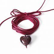 Choker Prata Coração VD 150
