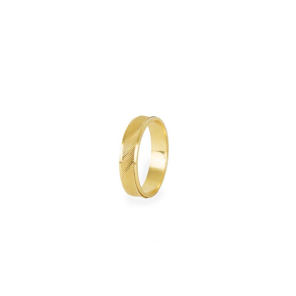 Aliança Ouro 18k 0015 L 15