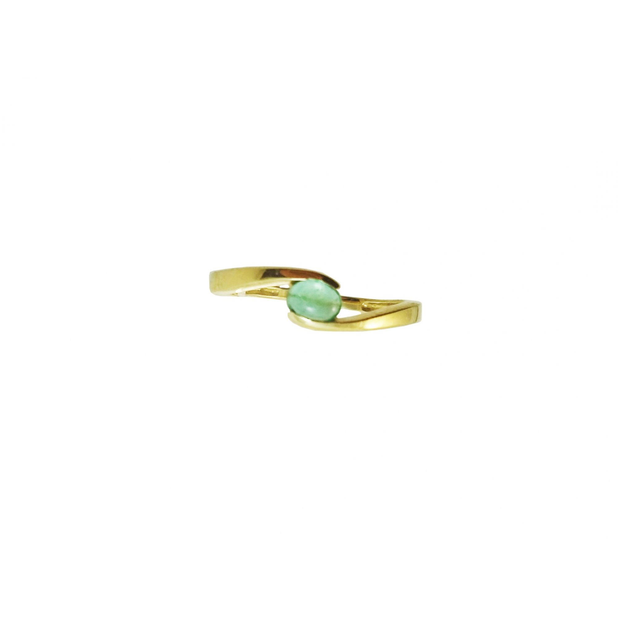 Anel Ouro Amarelo 18k Eternity L 14