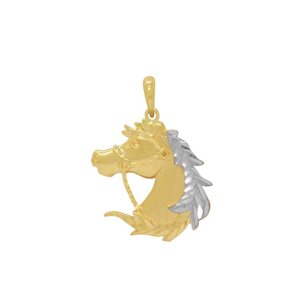 Pingente Ouro Cabeça de Cavalo L 9.3