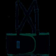 Faixa Ergonômica proteção lombar com suspensório MAZOLA