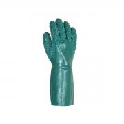 Luva de PVC forrada palma granulada  45cm, CA 34569