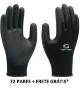 Luva Multitato, 72 PARES, Frete Grátis*, Poliamida, Super Safety CA 32034
