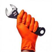Luva SuperMax Proteção Química e Mecânica IGNITE ORANGE, 1 PAR, CA 41843